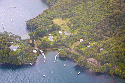 Some Stewart Island Homes