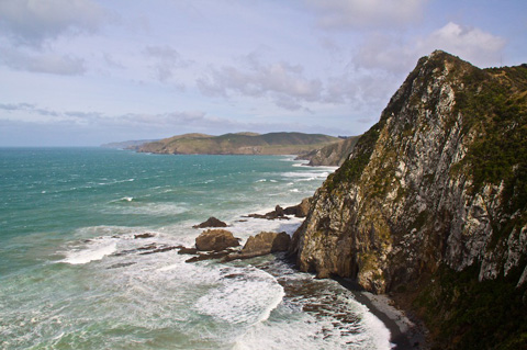 Near Nugget Point