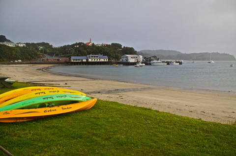 The Beach at Oban on Stewart Island