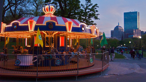 The Carousel on the Commons
