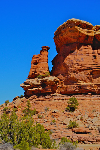 A Chimney Rock