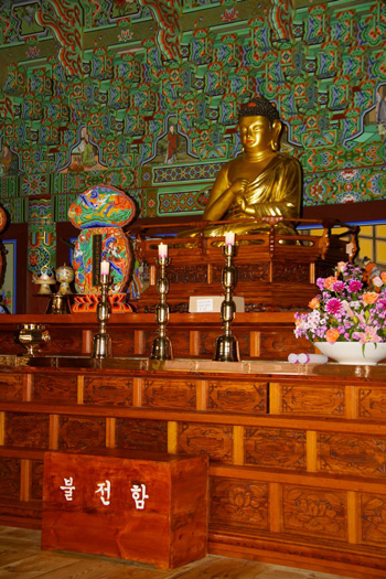 The Oldest Golden Buddha in Korea