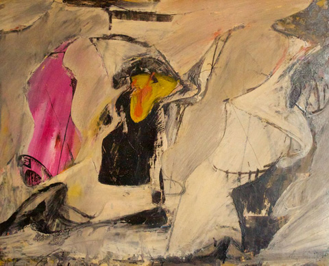"""Untitled,"" Possibly Because When de Kooning Painted This Even He Didn't Know What It Was"