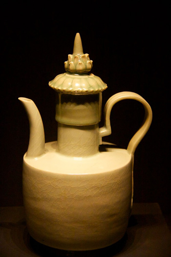 A Celadon Ewer from the 12th Century