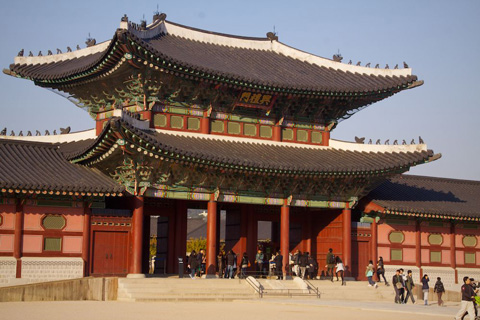 Gwanghwamun, the Main Gate of Gyeongbok Palace