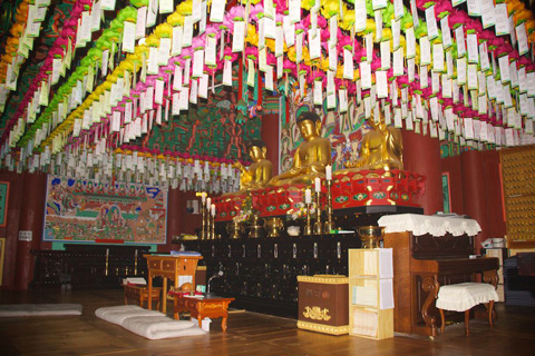 Inside the Temple