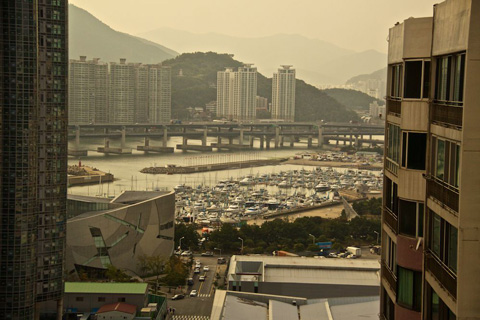 Busan's Small Boat Harbor