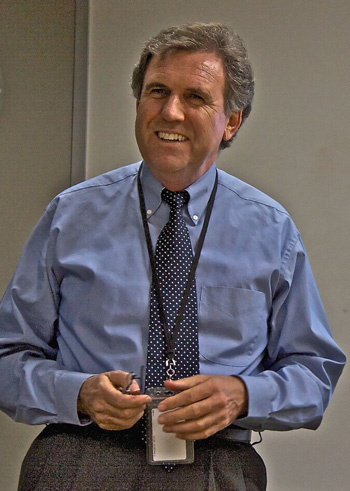 David Forbes Addressing a Colorado Health Department Group Yesterday