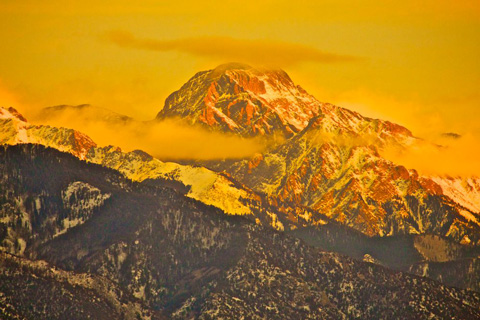 A Sangre de Cristo Mountain Peak