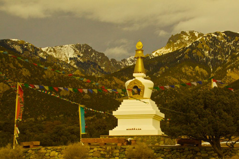 The Jangchub Chrten Stupa of Enlightenment in Crestone