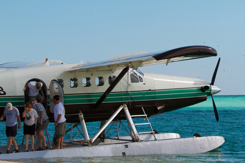 Arriving at Dry Tortugas