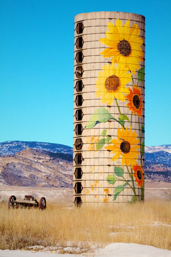 Just an Old Silo
