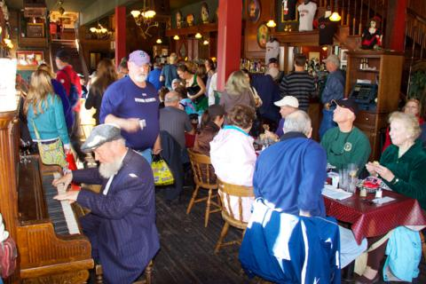 Skagway's Red Onion Saloon