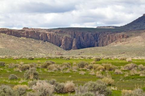 Basin, Range, and Sagebrush in Sheldon NWR