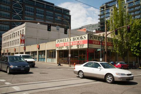 Powell's Covers an Entire Block of Portland with More than One Million Books