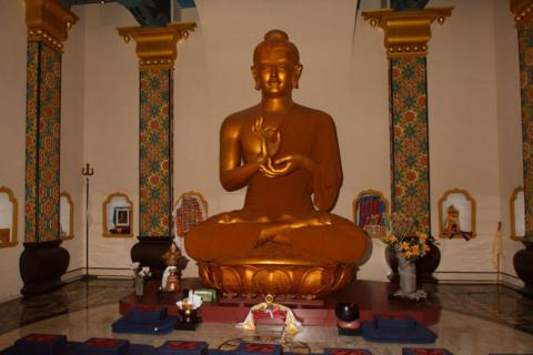 Inside the Stupa