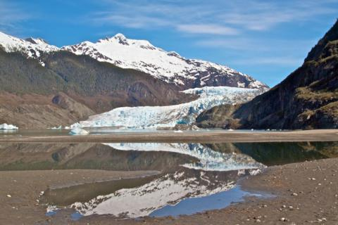 Mendenhall Glacier, Alaska