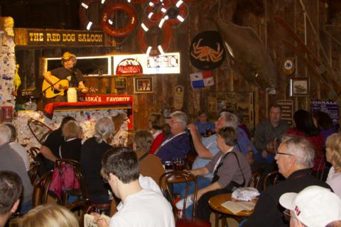 The Red Dog Saloon was Always Packed When a Cruise Ship was in Town