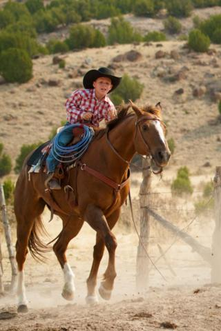 Sean Bader May Be Just 7, but He Is Already a Cowboy