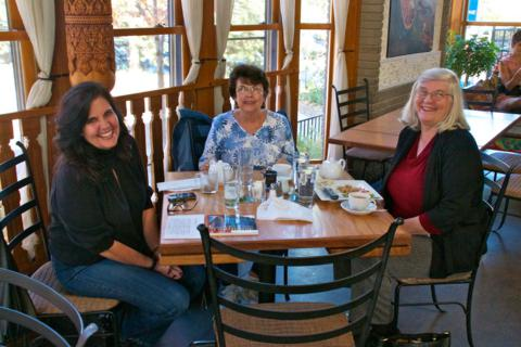 Marveen, the Sister of My Best Friend's Wife, Joined Us for Lunch at the Teahouse