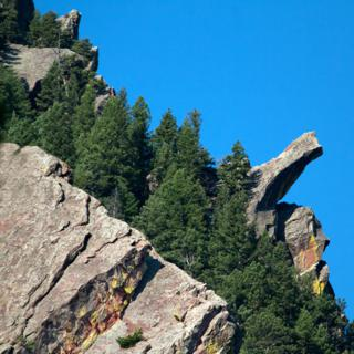 Finger Rock is Most Visible from the Bear Canyon Trail