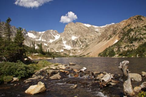 Lake Isabelle Sits Just Below the Indian Peaks That Form the Continental Divide