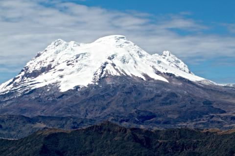 Antisana at 18,714 Feet is the Fourth Highest Volcano in Ecuador (Canon 7D with 100-400mm lens at 100mm, f/8, 1/750, ISO 200)