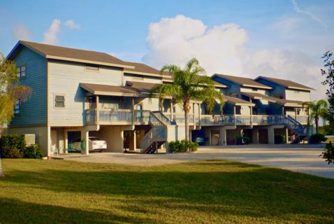 The Front of Our Condo, the Second Unit from the Left