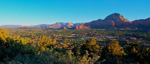 Only about 10,000 people live in Sedona. If I ever left Boulder and if I could afford to live in Sedona, it would be my first choice.