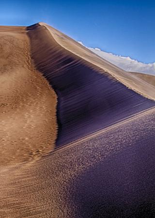 Nearing the Top of the Sand Dune