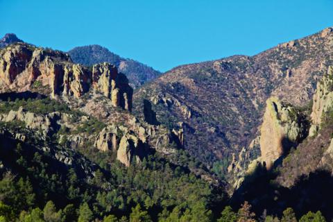 The Real Cave Creek Canyon in Arizona's Chiricahua Mountains