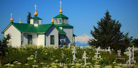 The Holy Transfiguration of Our Lord Chapel Is the Russian Orthodox Church in Ninilchik