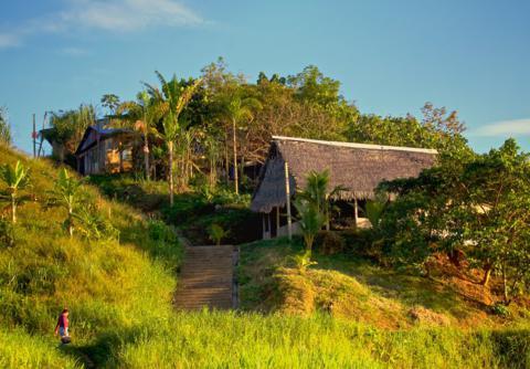A Modern Village Along the Amazon
