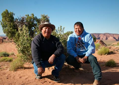 Tony Begay (left) and His Brother Ray are Top Navajo Guides