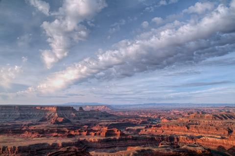 The Canyonlands in Early Morning Light