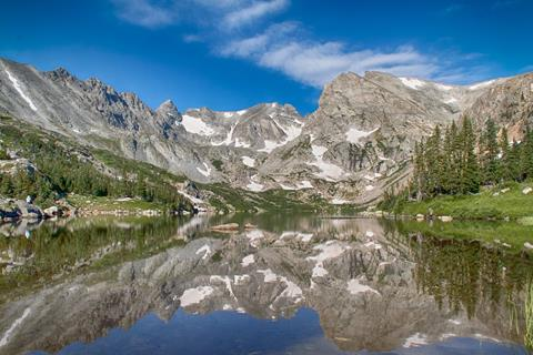 ​Lake Isabelle, Sharon, Isabelle Glacier, and Shoshoni Peak​