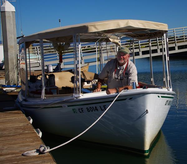 Captain Brian at the Moss Landing Dock