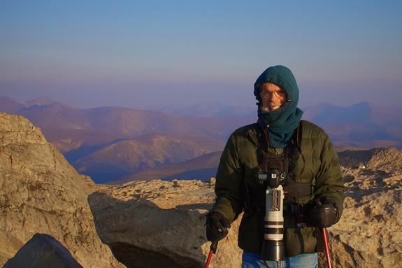 At the Summit of Mount Evans